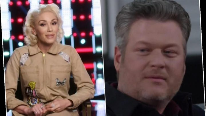 Gwen Stefani says she's going to win The Voice with one of boyfriend Blake Shelton's songs