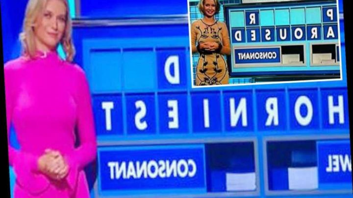 Rachel Riley's cheekiest Countdown spellings… including one which was so rude it had to be completely blurred out