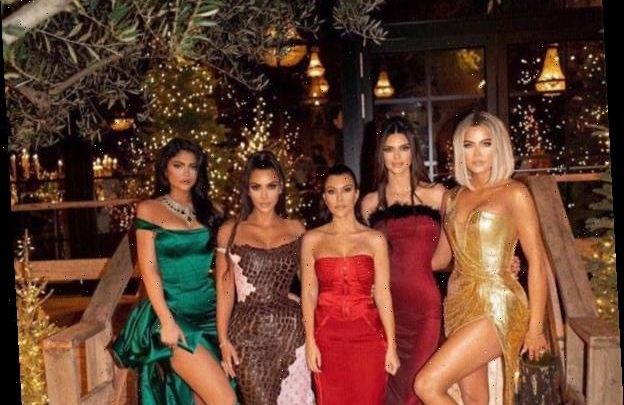 How the Kardashian-Jenners Achieved Their Chic Christmas Party Looks