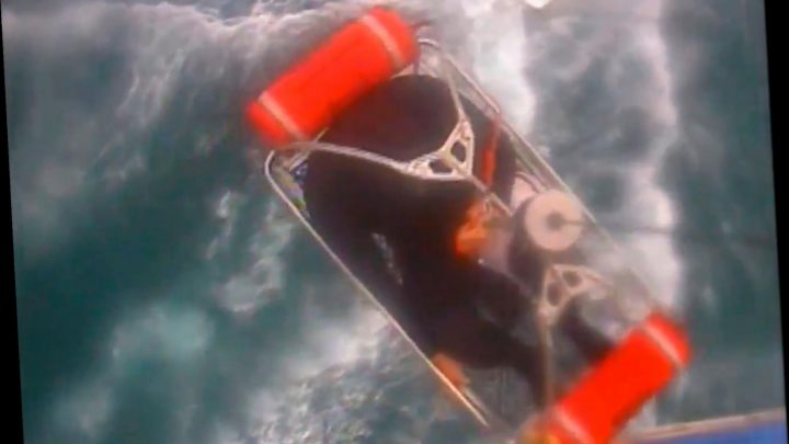 Surfer bitten by shark in 'truly terrifying' attack rescued by Coast Guard