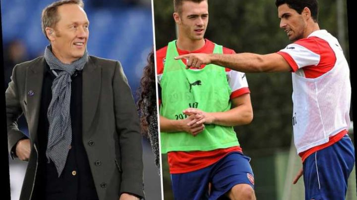 Lee Dixon jokes Arsenal boss Mikel Arteta 'needs to put his willy away' as ill-timed training photo emerges – The Sun