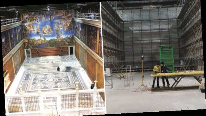 How 'Two Popes' Production Team Re-Created the Sistine Chapel, Frescoes and All
