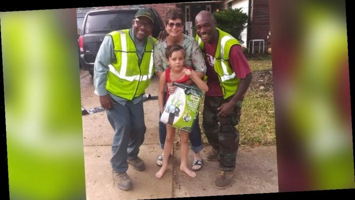 Girl who loves trash day becomes best friends with these unlikely community heroes