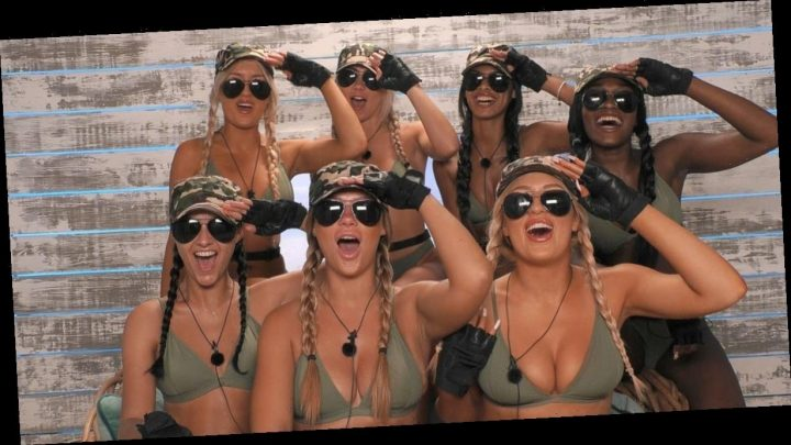 Love Island girls endure 'Booty Camp' before one is cruelly dumped from villa