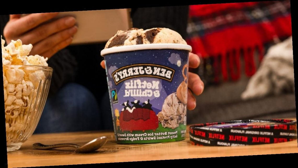 Ben & Jerry's is launching a Netflix and Chilll'd flavour –and it's incredible