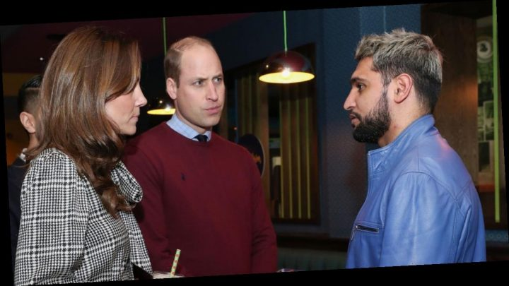 Amir Khan urges Kate and William to 'resolve situation' with Meghan and Harry