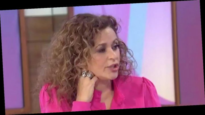 Loose Women's Nadia Sawalha unveils very racy transformation in plunging dress