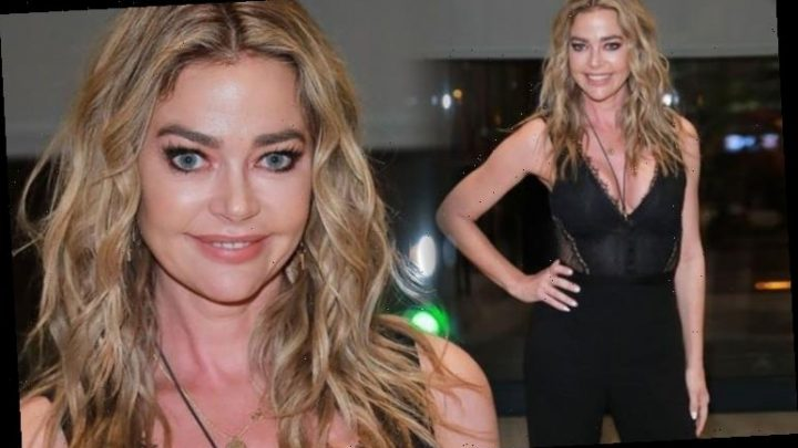 Denise Richards seen in Madrid for first time since rumoured affair with Brandi Glanville