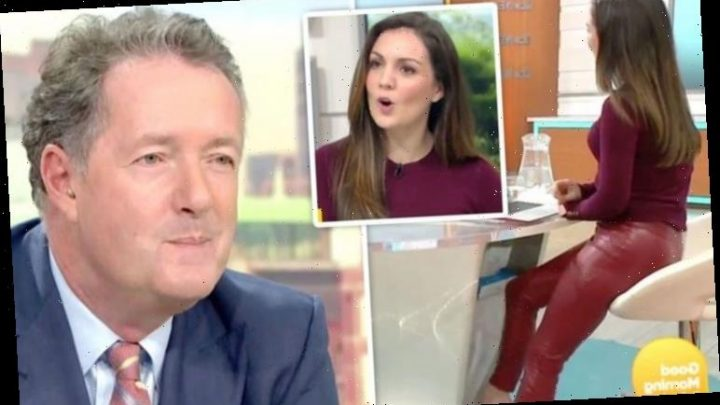 Piers Morgan hits out at backlash to his comments about co-star Laura Tobin's 'hot pants'
