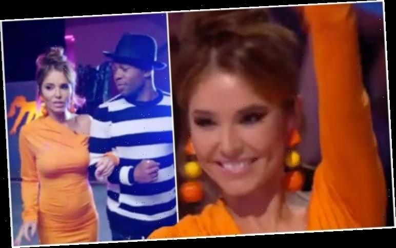 Chery Cole style: The Greatest Dancer judge demands attention in tangerine mini dress