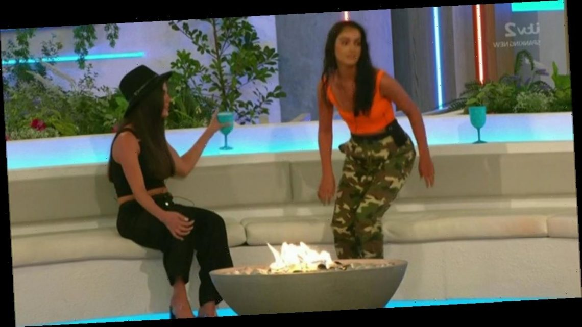 Love Island fans left in hysterics after Siannise's blunder in row with Rebecca