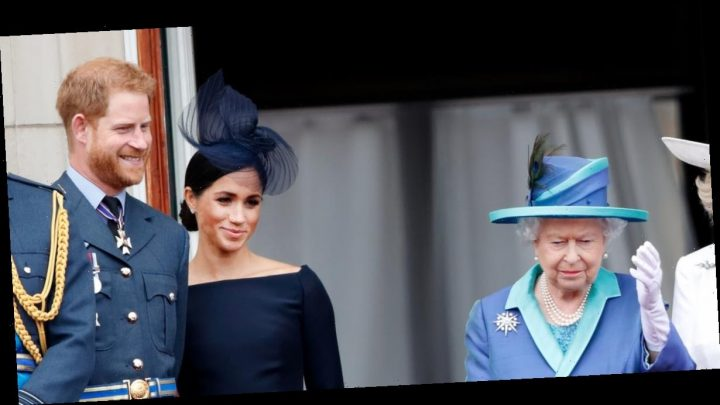 Following Crisis Talks, the Queen Issues a Statement About Meghan and Harry's Future