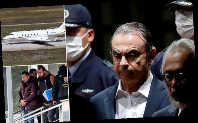 2 US security operatives who smuggled Ghosn out of Japan are revealed