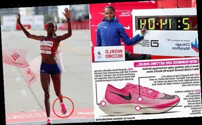 Nike shoe which helped break Paula Radcliffe's record set to be BANNED