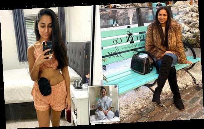 Woman bares ileostomy bag in photos to inspire body confidence