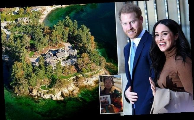 Harry and Meghan 'living on stolen land', say indigenous tribe