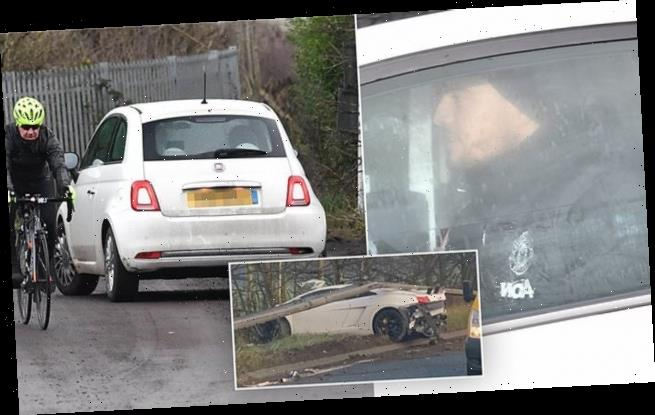 Sergio Romero turns up for FA Cup trip to Tranmere in a Fiat 500