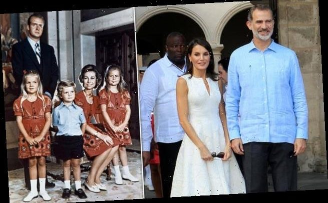 Spanish royal fans share a sweet throwback snap of King Felipe