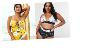 Curvy Girls, These Are the 20 Coolest Swimsuits You Need in 2020