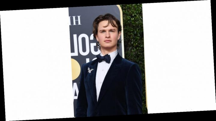 From Now On, I Only Want to Discuss Ansel Elgort's Eye Shadow From the Golden Globes