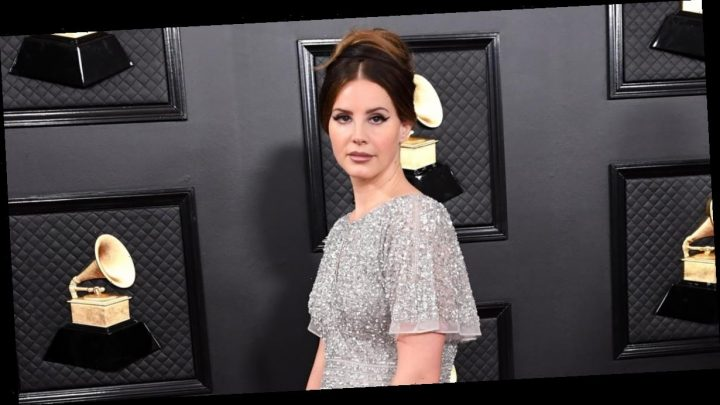 Lana Del Rey Bought Her Glamorous Grammys Dress at the Mall, and Wow, That's Refreshing