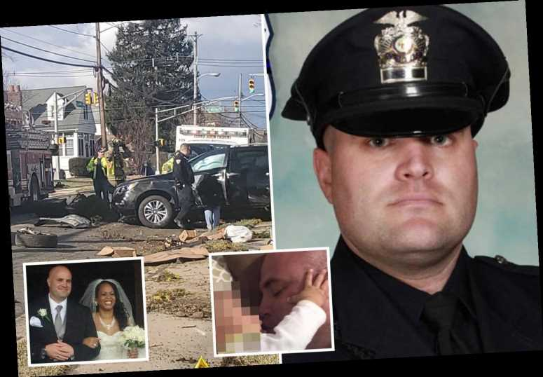 Off-duty New Jersey cop shot himself in the head after smashing SUV into two parked cars as responders tried to free him – The Sun