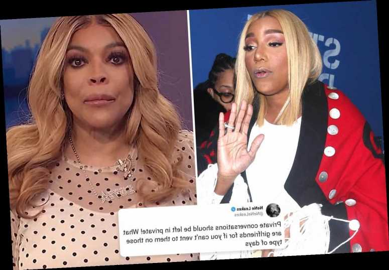 Nene Leakes slams Wendy Williams for revealing 'private' text about her quitting RHOA live on TV – The Sun