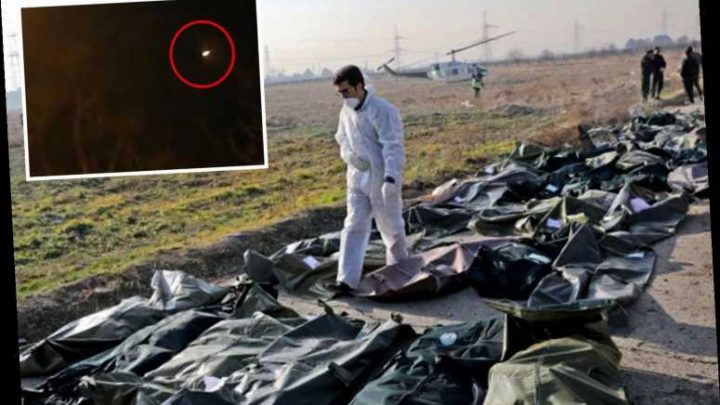 Iran plane that crashed killing 176 was shot down by anti aircraft missile system, Pentagon official claims – The Sun