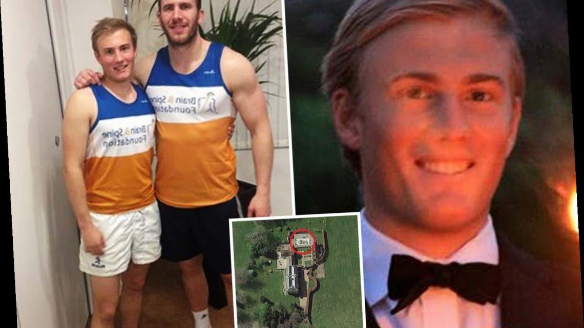 'Fit' Cambridge student, 24, died 'holding his breath' underwater for 'party trick' in pool of family's £3m home