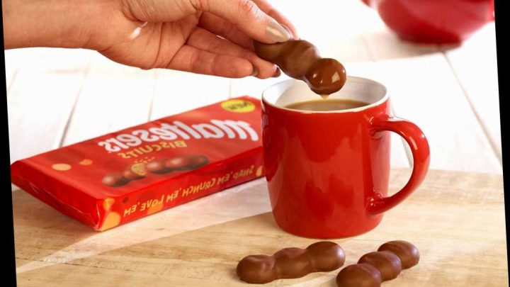 Maltesers biscuits now exist and you can buy them in Asda