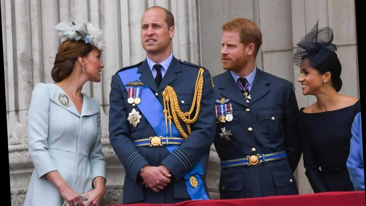 Prince William and Kate Middleton are 'still reeling' from Harry & Meghan Markle's decision to quit, says royal expert