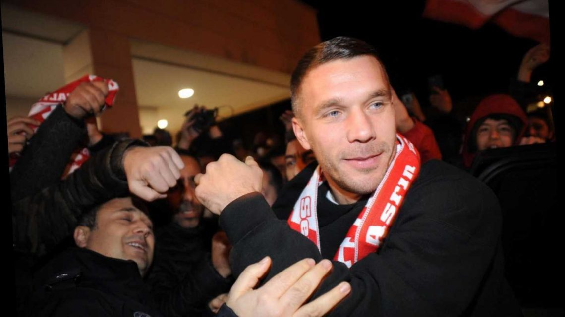 Ex-Arsenal star Lukas Podolski returns to Europe after joining Antalyaspor on free transfer from Vissel Kobe – The Sun