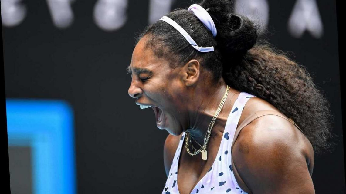 Serena Williams crashes out after worst Australian Open campaign for 14 years