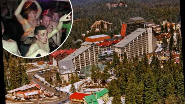 Boozy Brits in Bulgaria resort dubbed 'Magaluf on Ice' preyed on by thieves who steal drunk skiers' expensive gear