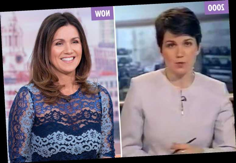 Susanna Reid shocks fans with BBC clip from 20 years ago – but looks younger now – The Sun