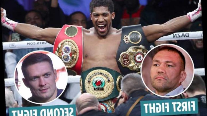 Anthony Joshua's next fight against Kubrat Pulev before facing Oleksandr Usyk, says Eddie Hearn – The Sun