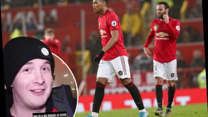 Man Utd fan flies over 24 hours from Australia to watch Burnley loss and fears club are becoming the next Sunderland – The Sun