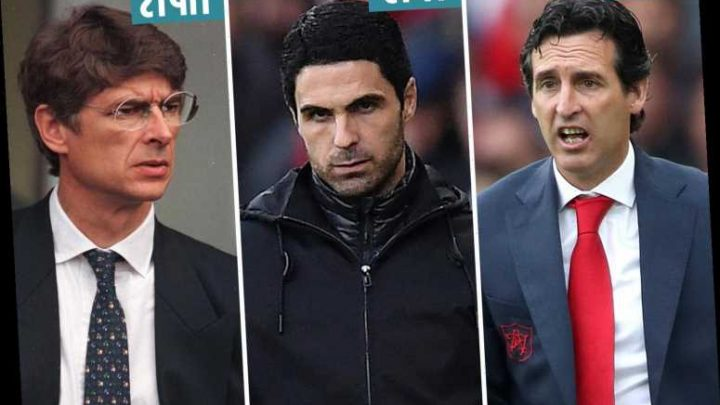 Mikel Arteta has made the worst start of any manager in Arsenal's entire history despite impressive draw at Chelsea – The Sun