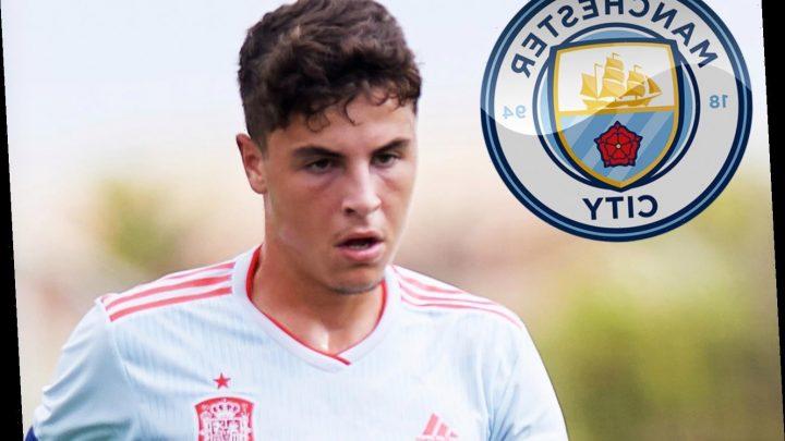 Man City in transfer battle with Barcelona for 19-year-old Villarreal B midfielder Ivan Morante – The Sun