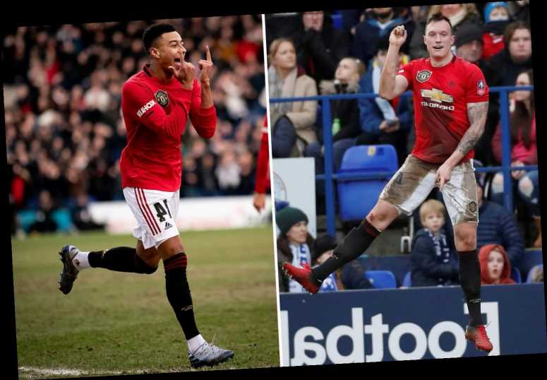 Man Utd fans in heaven as Jones and Lingard end epic goal droughts in Tranmere FA Cup blitz – The Sun