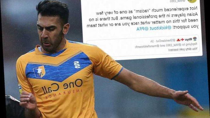Mansfield Town defender Mal Benning suffers vile racist abuse as he's called 'Dirty P*** bastard' on social media – The Sun