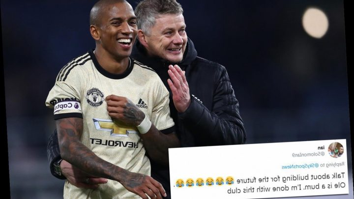 Fans fuming as desperate Man Utd offer Ashley Young new deal and spark transfer war with Inter Milan – The Sun