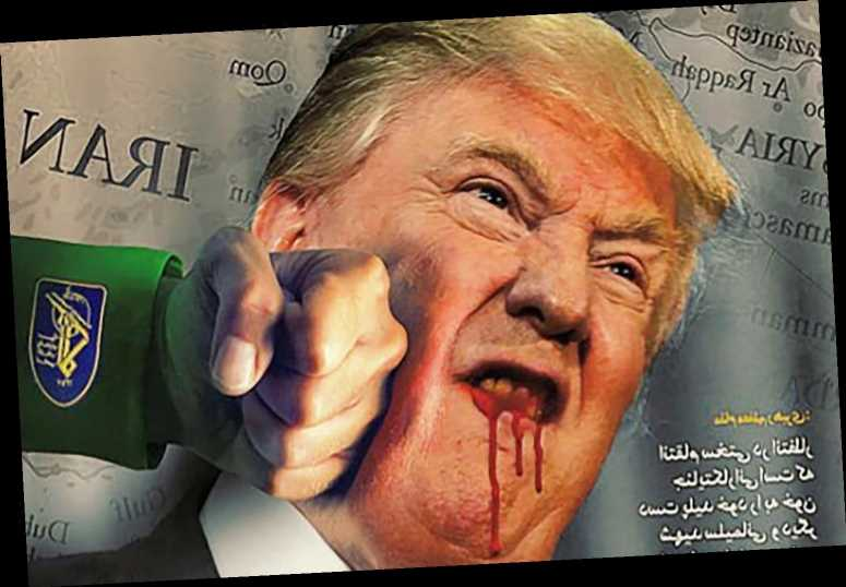 'Iranian hackers' take control of US government website and post image of a bloodied Trump – The Sun