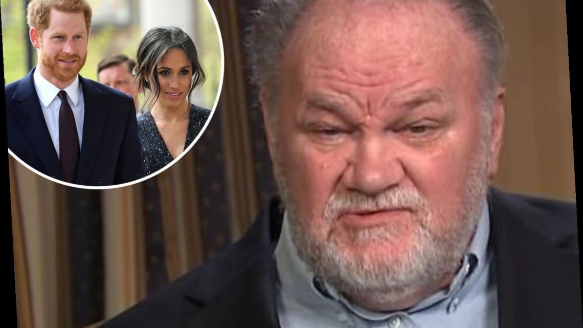 Meghan Markle's dad Thomas slams 'insecure' Prince Harry and says Meghan 'mothers him' – The Sun