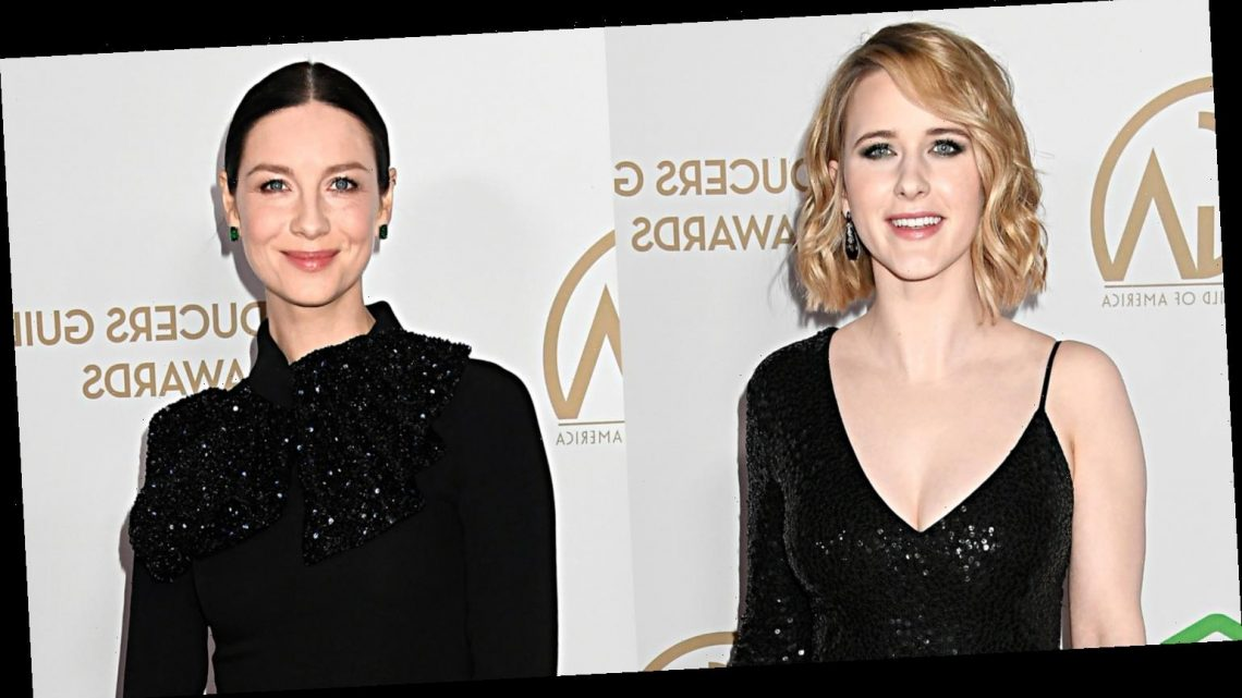 Rachel Brosnahan & Caitriona Balfe Go Pretty in Black for Producers Guild Awards 2020
