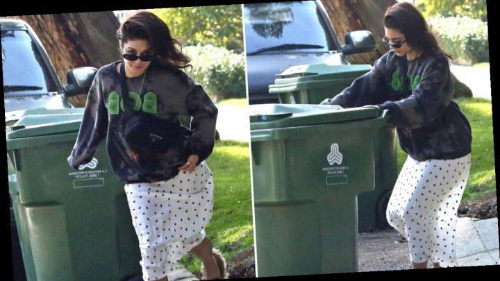 Vanessa Hudgens Takes Out the Trash On Heels of Austin Butler Split