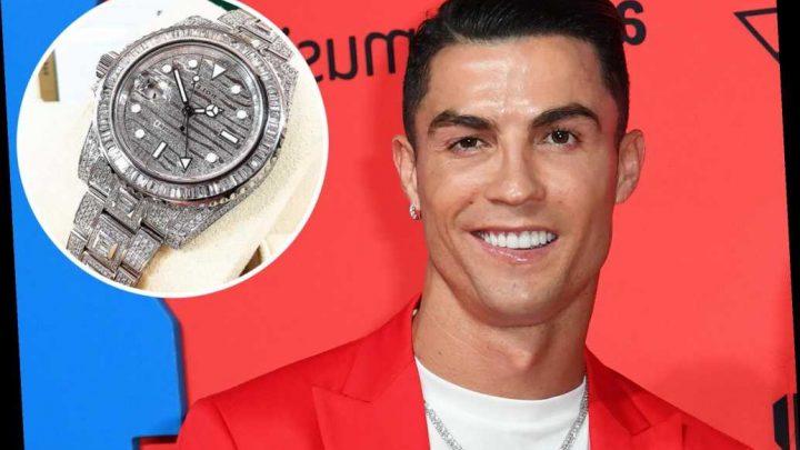 Cristiano Ronaldo wears Rolex watch worth nearly $500K