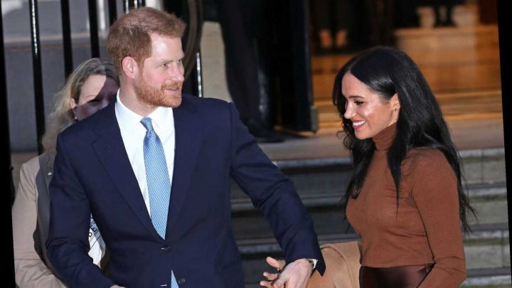 Anxious Prince Harry 'acts like Meghan Markle's bodyguard' and 'takes control' after their six-week holiday