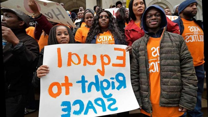 Charter school parents worried that Gov. Andrew Cuomo is abandoning them