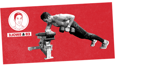Level Up Your Plank With This Dumbbell Row Move